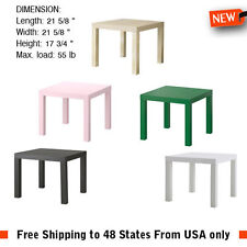 Side Corner End Table Coffee Bedside Laptop Nightstand Night Stand