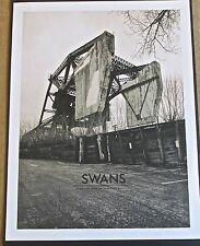 Swans Band Mini-Concert Poster Reprint 2015 Barcelona Spain  Concert 14x10