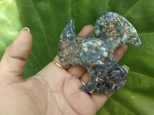 Energized SODALITE Orgone Fidget Spinner pointed Crystal Therapy Booklet