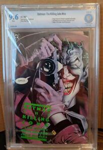 Batman:  The Killing Joke DC 1988, Graded 9.6 CBCS