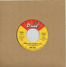 JOE TEX  UNDER YOUR POWERFUL LOVE *WITH STRINGS*/UNDER YOUR POWERFUL LOVE OSV005