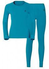 Odlo Set shirt L/s Pants Long Warm Sous-vêtements Femme Rot XL