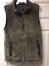 True Grit Mens Pebble Pile Vest Gravel Size X-Small NWT