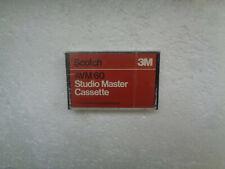 Vintage Audio Cassette SCOTCH Studio Master AVM 60 * Rare From 1970's *