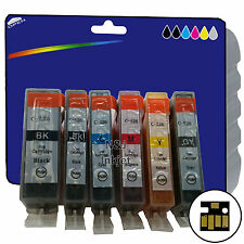 Any 6 Inks for Canon MG6150 MG6250 MG8150 MG8170 MG8250 non-OEM 525/6 GY