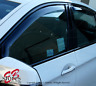 4pc Rain Guard Visor Vent Deflector Inner Channel For Subaru XV Crosstrek 13-16