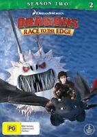 Dragons - Race To The Edge : Season 2 (DVD, 2-Disc Set) NEW
