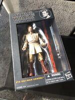 New In Box Star Wars The Black Series Obi-Wan Kenobi #10 Figure