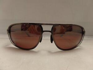 Maui Jim MJ-232-17 Lahainaluna Polarized Sunglasses 61×17-128 Brushed Sil/M Rose
