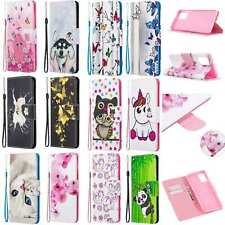 Magnetic Leather Card Wallet Flip Stand Case Cover For Various mobile phones