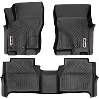 OEDRO Floor Mats Liners TPE for 2005-2021 Nissan Frontier Crew Cab All-Weather