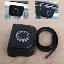 Solar Powered Car Auto Window Windshield Cooling Fan Air Vent Cooler Radiator