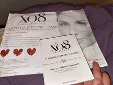 Xo8 Skincare Placenta Stem Cell Lip And Face Mask/Exp 05/21