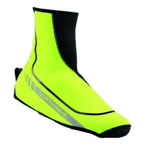 Northwave Sonic 2 Cycling Shoecovers - Small - Fluorescent Yellow / Black