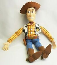 """Disney Toy Story Sheriff Woody Doll 16"""" Push Button Talking Thinkway Toys"""