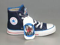 Converse THE WHO JUMP HI Band Chucks 108834 DARK BLUE limited +Neu+versch.Größen