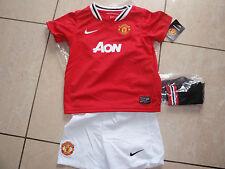 Manchester United neue NikeTrikotset Größe 96-104 Wunschflock Name möglich