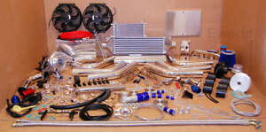 2004+ FOR Chevy Ecotec 2.4 2.2 2.0 Turbo Charger Kit GM Saturn Intercooler