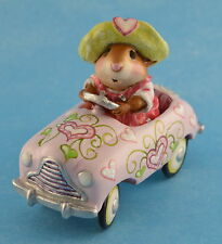PEDAL PUSHER by Wee Forest Folk,  WFF# M-270s, VALENTINE LTD of 500 Retired 2011