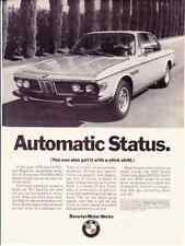 1970 BMW 2800  ~  CLASSIC ORIGINAL PRINT AD