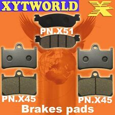 FRONT REAR Brake Pads for Yamaha YZF R1 R Thunderace 2002-2003