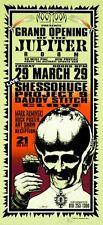 Jupiter Room Concert HANDBILL Shessohuge Project 9 Daddy Stitch Artist Arminski