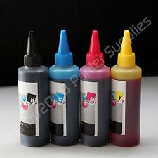 400ml (100ml per color)  Refill bulk Ink  for  HP60 HP901 60 /XL 901 /XL