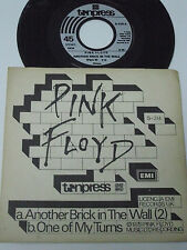 "PINK FLOYD Another Brick in the Wall - POLLAND 7"" Single - Unique sleeve RARE"