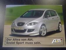 "Abt Seat Altea ""soviel Sport muss sein"" kaart"