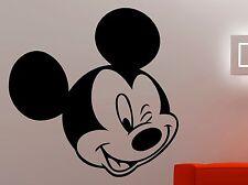 Mickey Mouse Wall Decal Disney Vinyl Sticker Movie Art Bedroom Nursery Decor 5eh