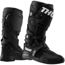 Thor Radial MX Motocross Off Road Motorcycle Motorbike Boots - Black