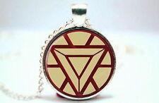 Iron Man Tony Stark Avengers Necklace Pendant