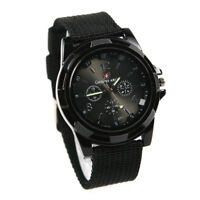 gemius army Military Army Pilot Fabric Strap Sports Men Watch Black D5X8 O5R0