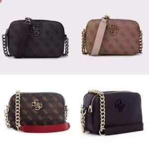 kamryn Small Crossbody Handbag Top Zip Women's Bag Gues Quilted Purse