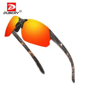 DUBERY Men Polarized Sport Sunglasses Outdoor Fishing Cycling UV400 Glasses 2021