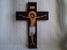 Wooden Crucifix Depicting Jesus Christ Catholic Orthodox Christian