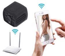 128GB Mini Caméra de Surveillance Vision Nocturne Détecteur de Mouvements Alarme