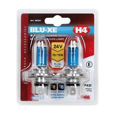 COPPIA LAMPADE LAMPADINE H4 24V 70/75W BLU-XE