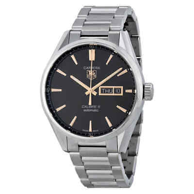 Tag Heuer Carrera Calibre 5 Black Dial Men's Watch WAR201CBA0723