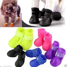 Unbranded Rubber Boots/Shoes for Dogs