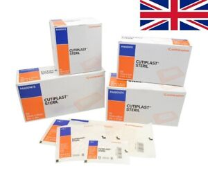 Cutiplast Steril Wound Dressing | Select Size & Quantity | Trusted UK Seller