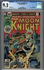 Marvel Spotlight #29 CGC 9.2 NM- Moon Knight Story