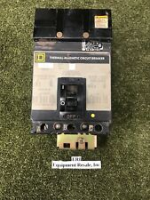 Square D, Thermal Magnetic Circuit Breaker FA34100, 100A, Series 2. Loc 25C /PY