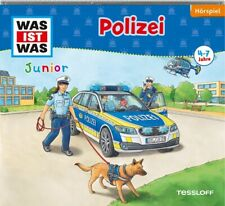 WAS IST WAS Junior Hörspiel-CD: Polizei von Charlotte Habersack (2009)