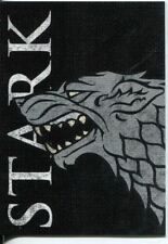 Games Of Thrones Season 2 Family Sigil Chase Card  H1 House Stark