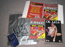 GRAYS SPORTS ALMANAC with dust cover/bill/bag/Oh Lala - BACK TO THE FUTURE II