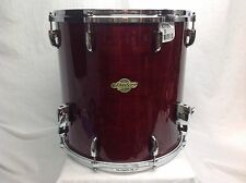 "Pearl Masters MCX 16"" Diameter  X 16"" Deep Floor Tom/Vintage Wine/# 280/NEW"