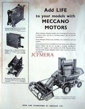 1962 MECCANO Construction Set Motors ADVERT (Combine Harvester) Vintage Print Ad