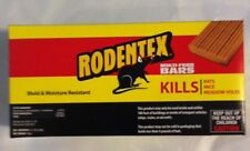 Rodentex Multi Feed bars(8) kill rats mice voles rat mouse vole poison bar NEW