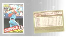 1985 O Pee Chee Darrell Porter 246 St Louis Cardinals Baseball Card